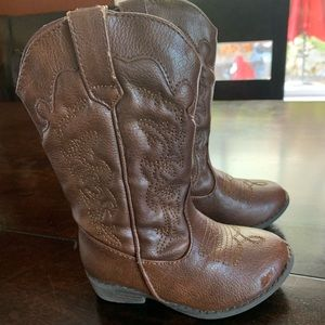 Jack Target Girls Cowboy Boots Size